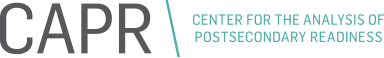 Center for the Analysis of Postsecondary Readiness Logo