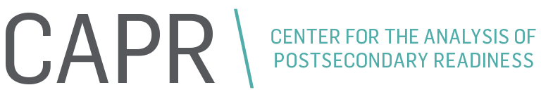 Center for the Analysis of Postsecondary Readiness Retina Logo